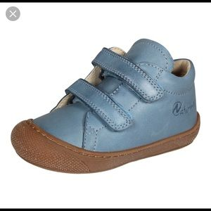 Blue Leather Naturino Toddler shoes